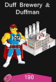 Duff Brewery and Duffman