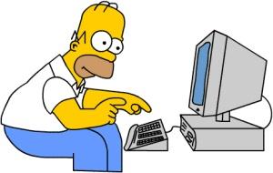 Homer-Simpson-Computer