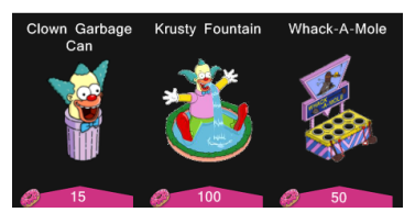 krustyland decorations