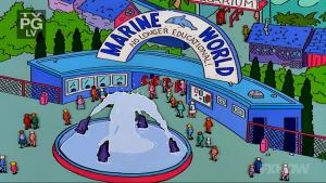 Marine World Simpsons
