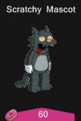 scratchy mascot