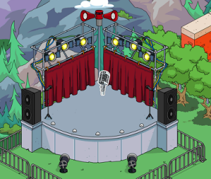 TSTO Open Air Stage
