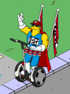 TSTO Duffman Promoting