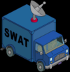 Tapped Out Level 33 SWAT Van