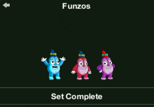 tapped outFunzos unlock message