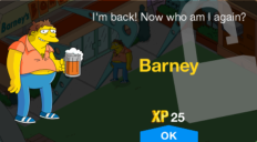 Tapped_Out_Barney_unlock message