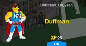 Tapped_Out_Duffmanunlock message