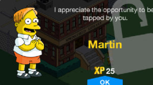 thesimpsonstappedoutmartinunlockmessage