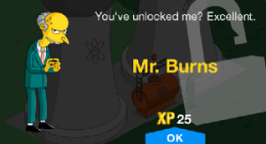 thesimpsonstappedoutmrburnsunlockmessage