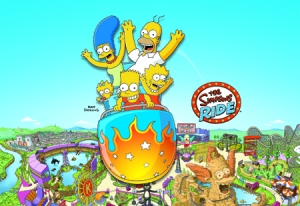 TSTO Krustyland attractions