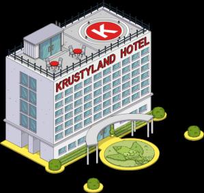 TSTO Krustyland krustyland hotel