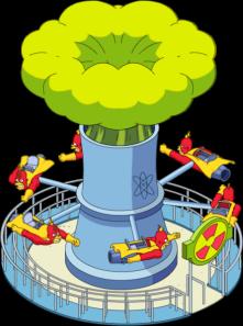 TSTO Krustyland Radioactive_Man_the_Ride