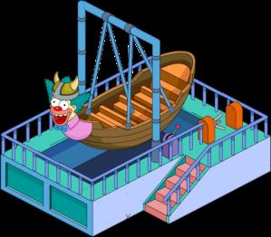 TSTO Krustyland viking boat