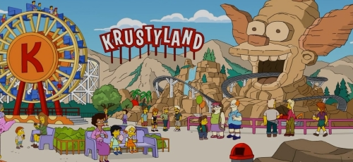 TSTO Krustyland visitors main