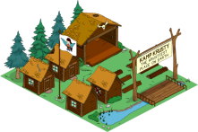 TSTO Level 32 Kamp Krusty Premium