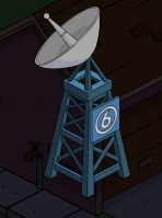 tsto worldwide broadcast dish