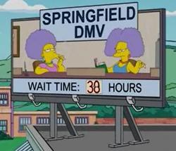 Resultado de imagem para springfield dmv