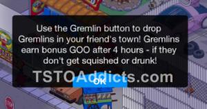 gremlin leave
