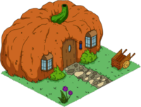 Who wants to live in a Pumpkin?