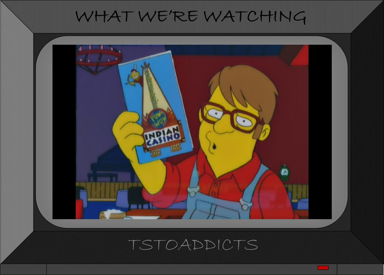 In the future, Bart is a wanna be musician living with Ralph Wiggum…