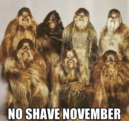 Wookiee Movember