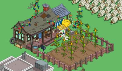 Cletus' farm glitch