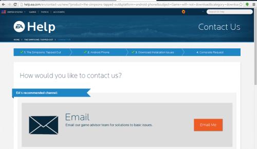 Contact EA 11