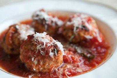 meatballs-ricotta-tomato