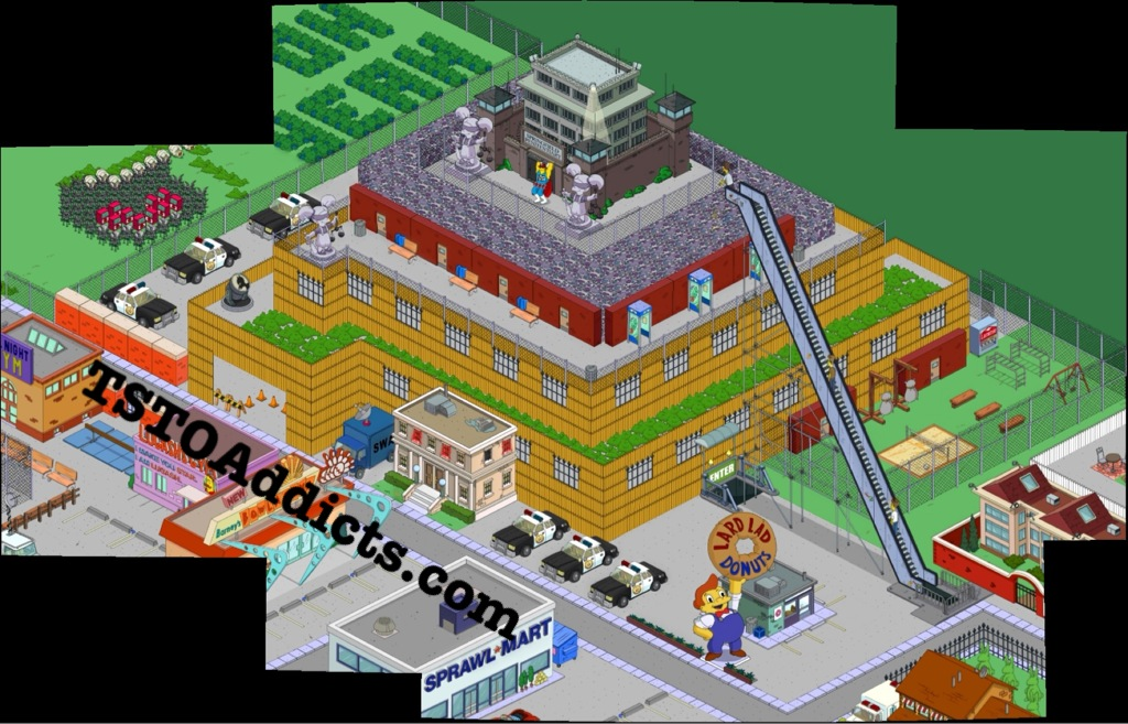 Tapped Out Can T Build Prison