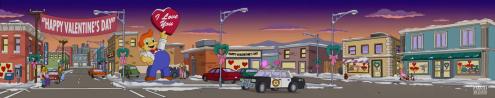 Valentine's Panorama