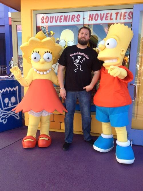 Wookiee, Bart & Lisa
