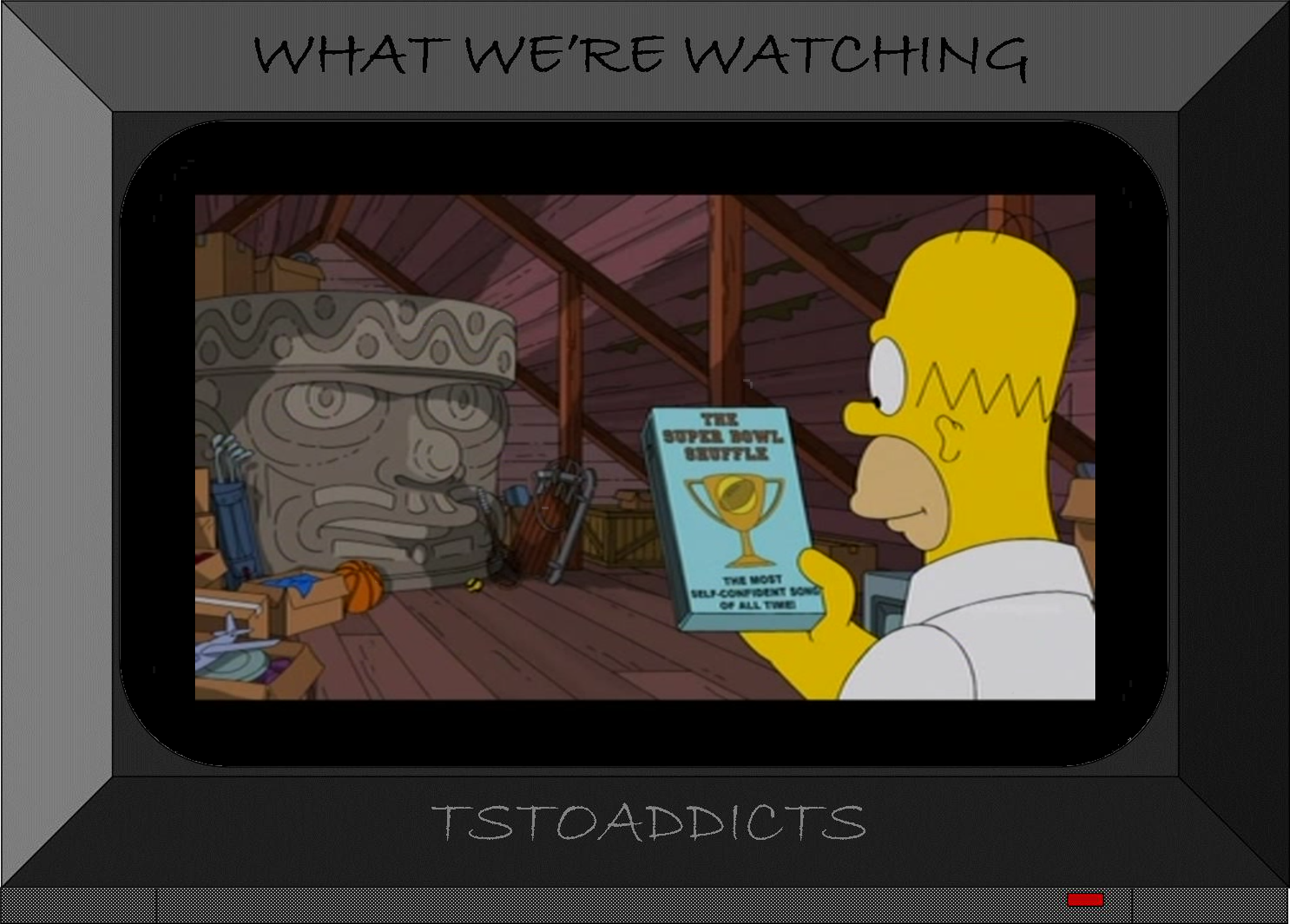 Where Did That Come From Olmec Headthe Simpsons Tapped