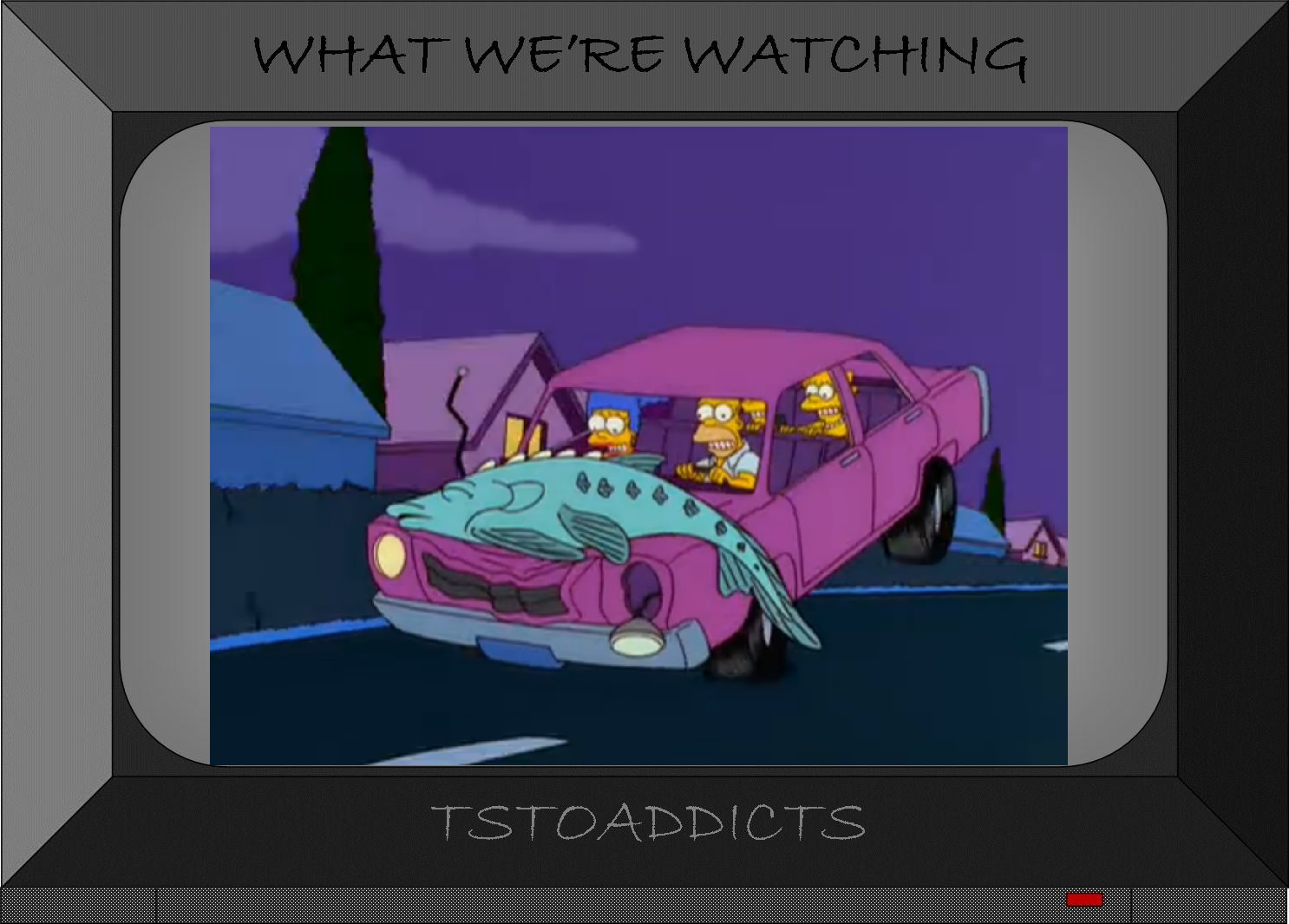 The Simpsons Homer Gets Hit By A Car
