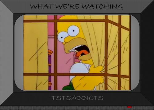Homer Scared