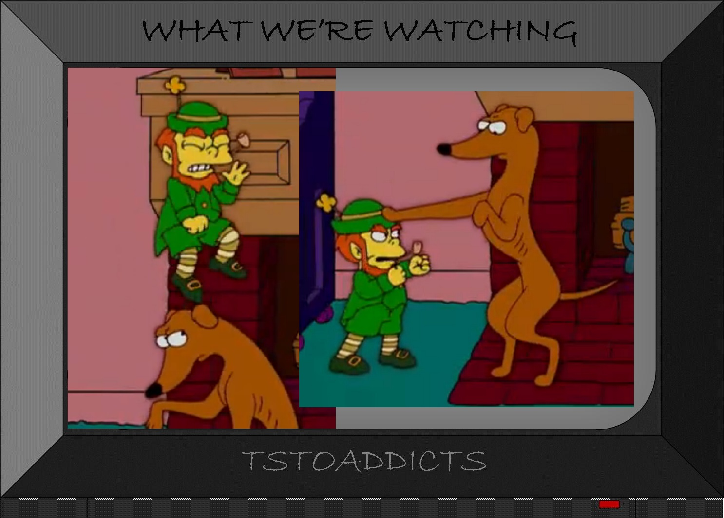 leprechauns don u0027t believe in you eitherthe simpsons tapped out