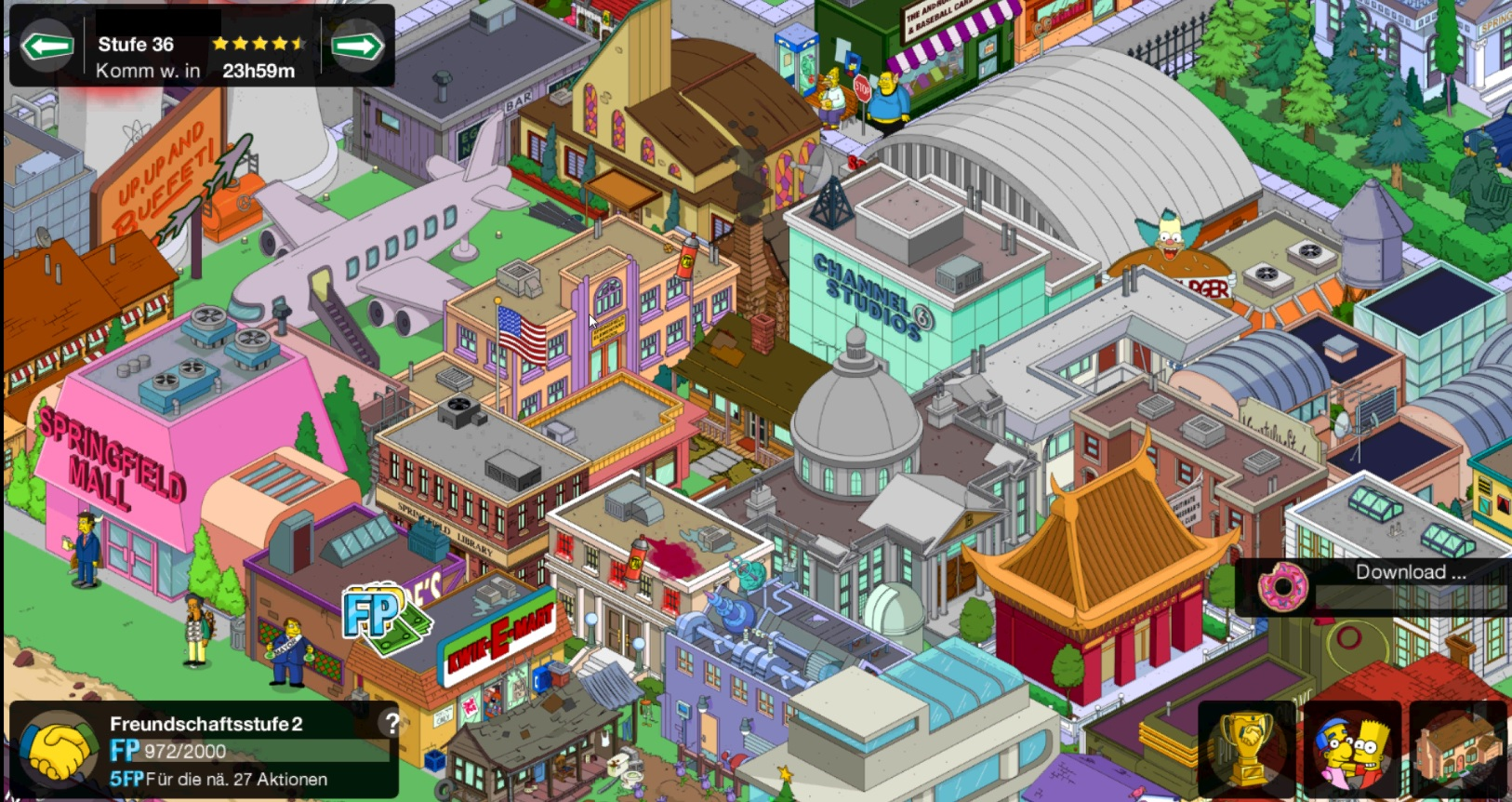 Download It Free From There Httpgoogllcsou Simpsons Tapped Out | Apps