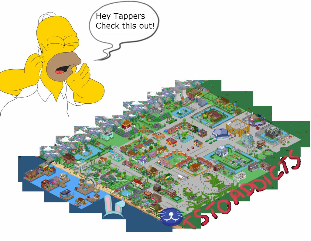 Tsto Topixthe Simpsons Tapped Out Addictsall Things The Simpsons Tapped Out For The Tapped Out Addict In All Of Us