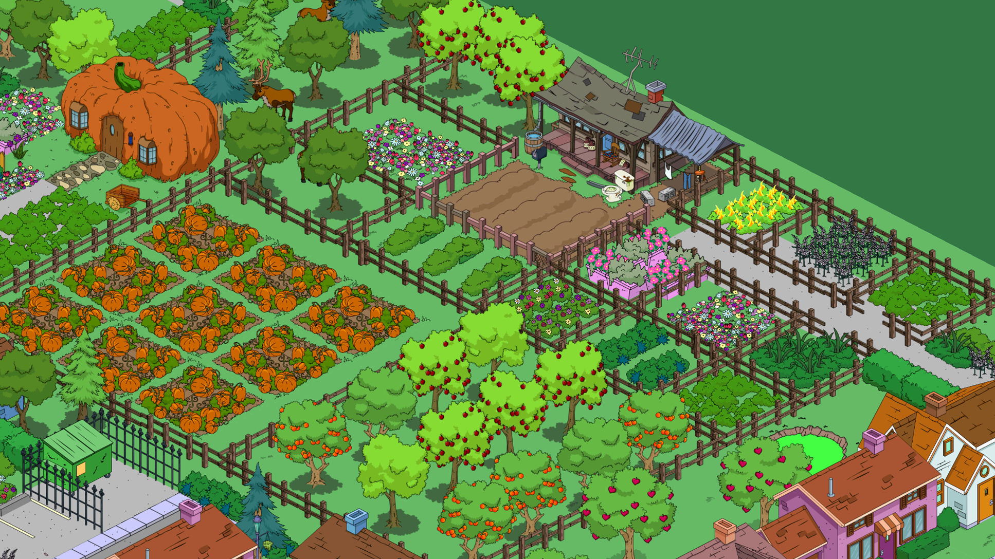 Simple Town Designs Cletus Farm The Simpsons Tapped