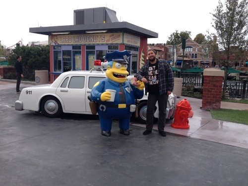 Wookiee with Wiggum