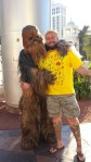 Wookiee and Wookiee on the Vegas Strip (2014)