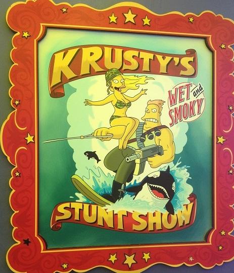 Stunt Show Krustyland