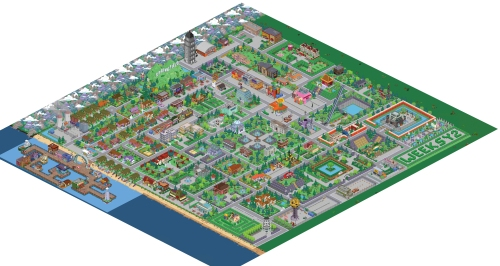 Simpsons Town