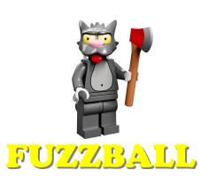LEGO Wednesday Wookiee  2