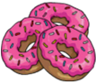 3 donuts