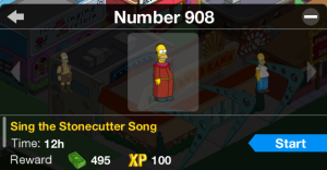#908 Sing stonecutter song 1