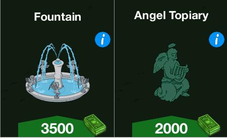 Fountain Angel Topiary