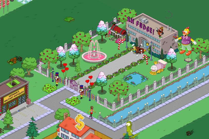 Springfield Showoff: Ah Fudge!