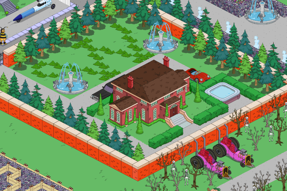 simple town designs it s all about perspectivethe simpsons tapped rh tstoaddicts com