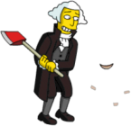 George Washington cut cherry tree