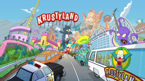 comment aller a krustyland